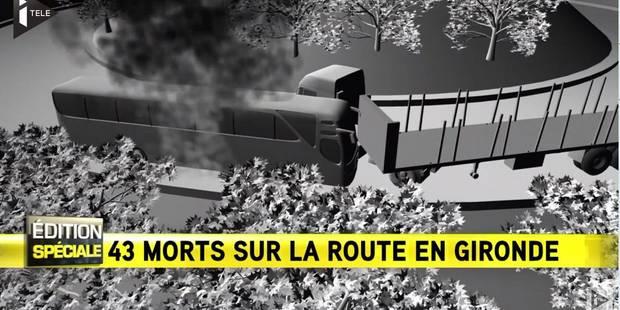 Collision en Gironde: Découvrez la reconstitution du terrible accident en 3D - La DH