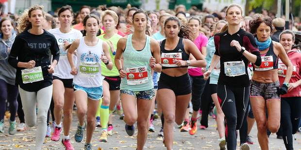 Succ�s de masse pour la Ladies Run