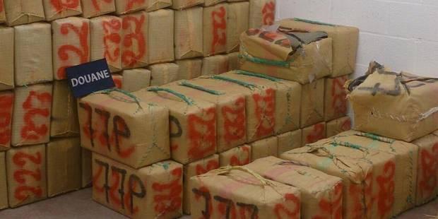 Saisie record : plus de six tonnes de cannabis à Saint-Ghislain - La DH