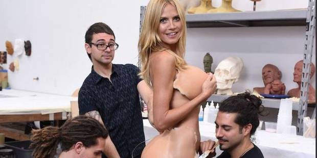 Heidi Klum, tout en seins et en fesses pour Halloween - La DH