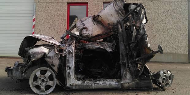 Accident sur l'E411 à hauteur de Libin: un automobiliste a péri carbonisé dans sa voiture - La DH