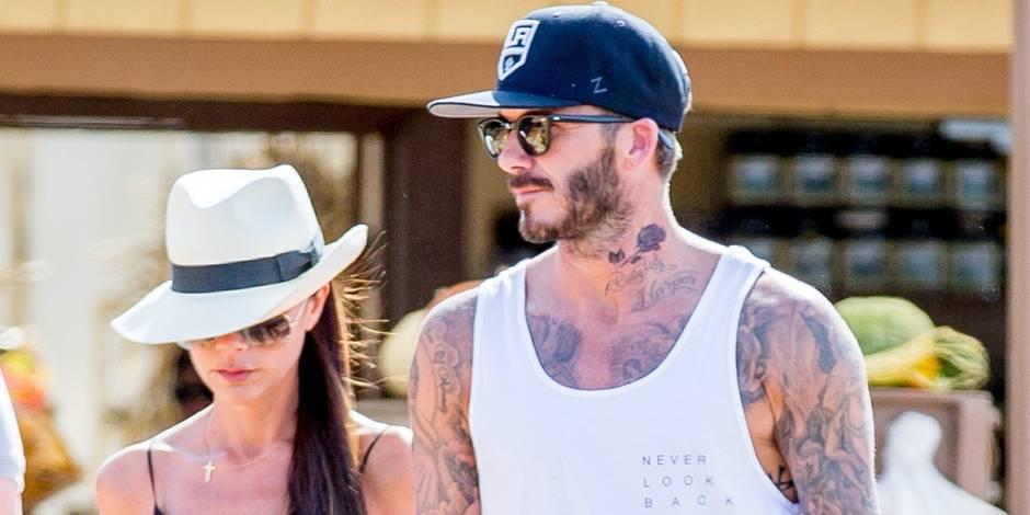David Beckham dévoile son nouveau tatouage en hommage à ses enfants