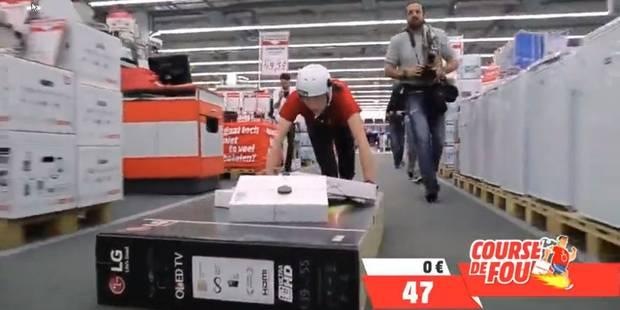 Crazy Run: un magasin lui offre 100 secondes pour piller ses rayons (VIDEO) - La DH