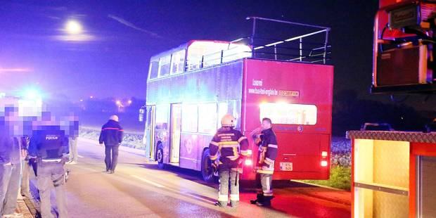 Julien (33 ans) heurte violemment un pont et se tue en faisant la fête dans un bus à impériale - La DH