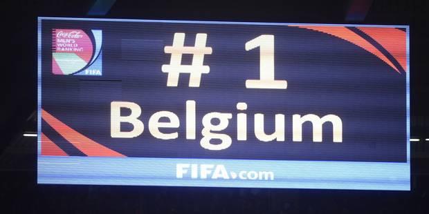 Ranking FIFA: les Diables officiellement sur le toit du monde ! - La DH