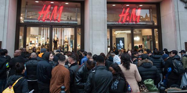 H&M collection Balmain: la folie... Elles ont campé depuis la veille! - La DH