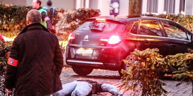 Branle-bas de combat en face de l'hôpital Saint-Joseph à Mons - La DH