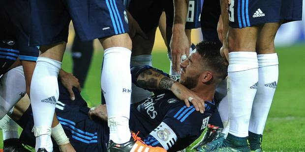 Ramos et Juanfran ne joueront pas contre les Diables