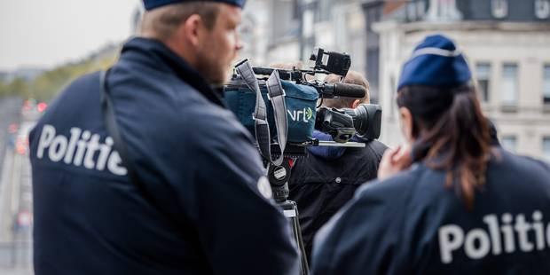 La police anversoise neutralise une adolescente en tirant une balle en plastique - La DH