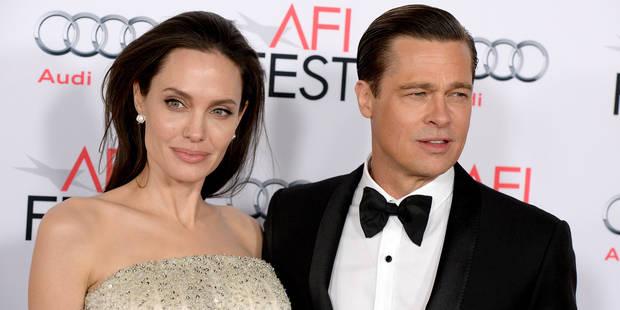 """Pour Angelina Jolie, ses scènes d'amour avec Brad Pitt sont """"la chose la plus bizarre du monde"""" - La DH"""