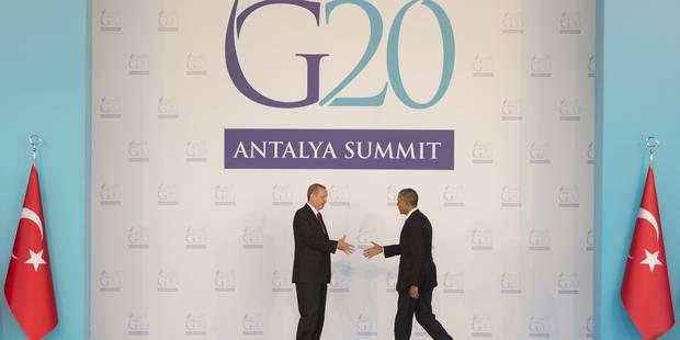 """Le G20 prêt à frapper """"très fort"""" contre le terrorisme après les attentats de Paris - La DH"""