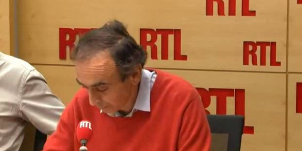"""Zemmour scandalise: """"Au lieu de bombarder Raqa, la France devrait bombarder Molenbeek"""" - La DH"""