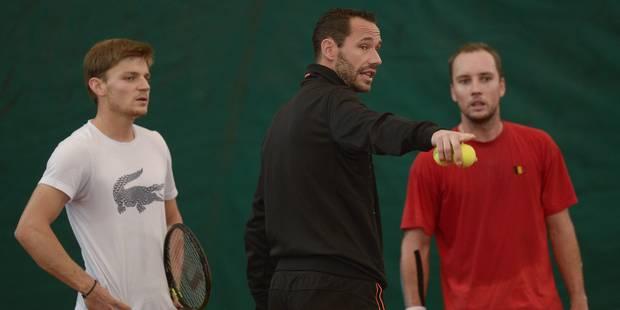 """Llodra, l'atout français de l'équipe belge: """"Une finale de Coupe Davis, c'est un truc de dingue!"""" - La DH"""