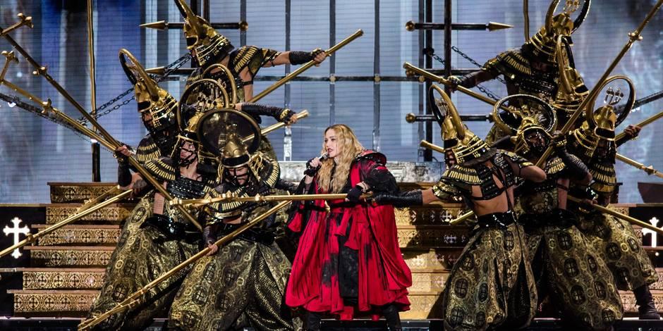 Madonna voit la vie en rose à Anvers