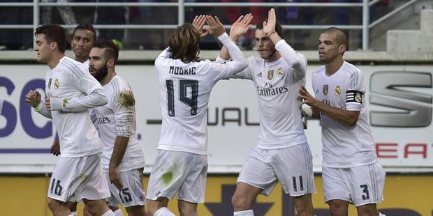 Liga: le Real l'emporte dans la douleur à Eibar - La DH