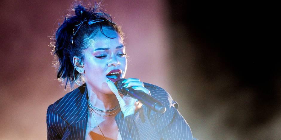 Rihanna à Werchter le 21 juillet