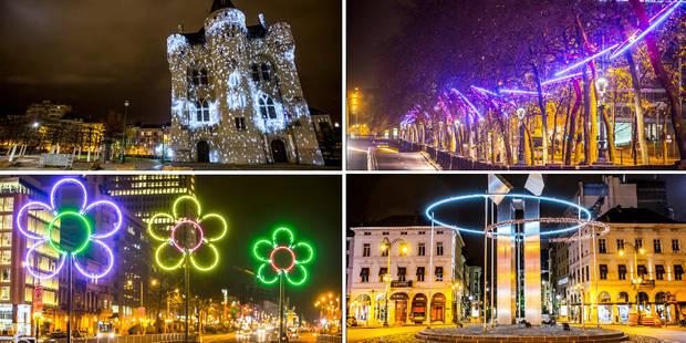 Bruxelles: un parcours d'oeuvres lumineuses sur la Petite Ceinture (PHOTOS) - La DH