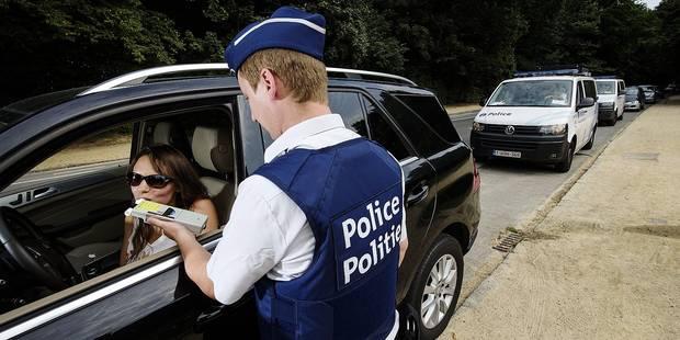 Exclusif: un quota de contrôles alcoolémie imposé aux patrouilles de police - La DH