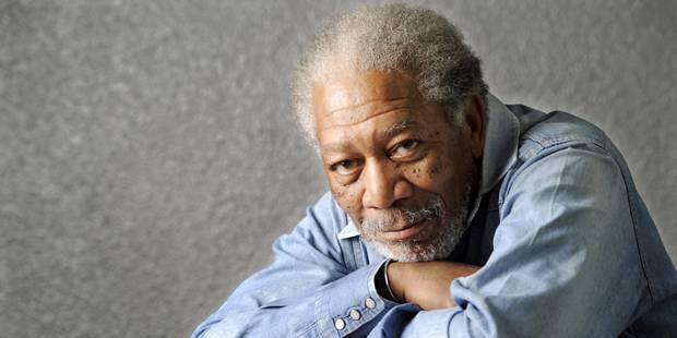 Enorme frayeur Morgan Freeman! - La DH