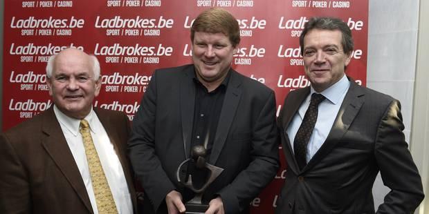 """Vanhaezebrouck remporte le Trophée Raymond Goethals: """"Je suis complètement foot!"""" (VIDEOS) - La DH"""