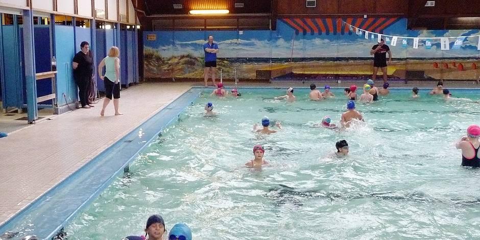 Enfin un lifting pour la piscine de Courcelles !