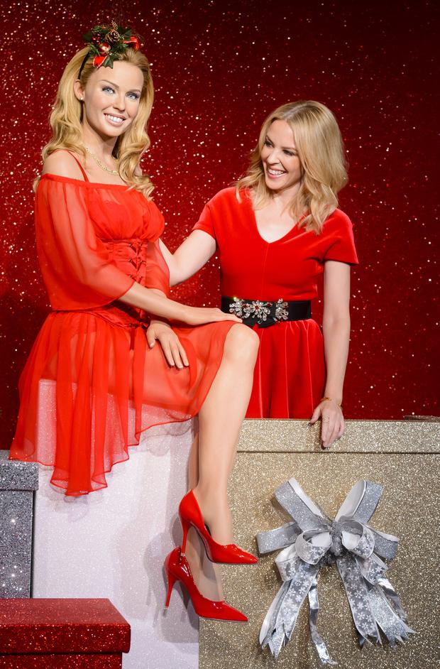 Kylie Minogue: Son Double De Cire Fait Peur à Voir !