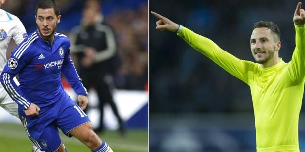 Milicevic et Hazard dans l'équipe de la semaine en Ligue des Champions - La DH