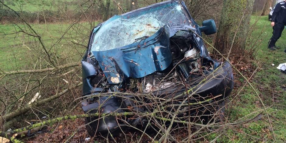 Un accident fait un mort et un blessé sur la N53 à Strée