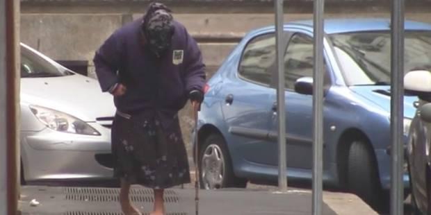 Des mendiantes se déguisent pour susciter la pitié: la vidéo accablante - La DH