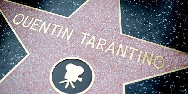 Tarantino reçoit son étoile à Hollywood - La DH