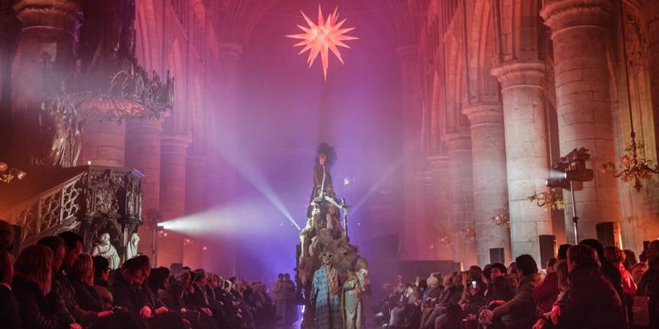 Féerie dans la cathédrale Saint-Aubain