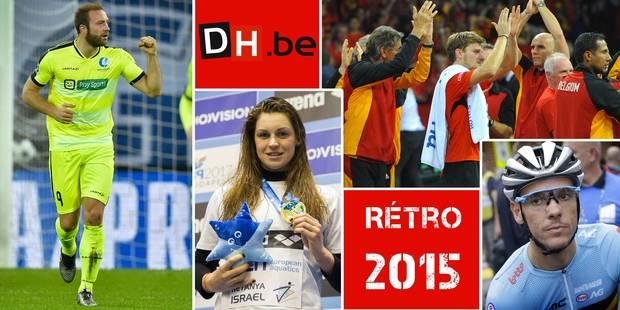 Rétro 2015: découvrez notre bulletin du sport belge - La DH