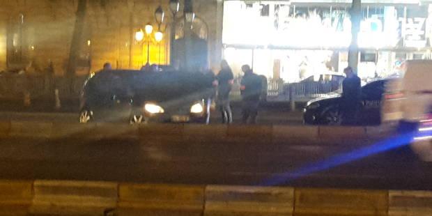 Coups de feu et course-poursuite à Ixelles: la voiture signalée pour un hold-up - La DH