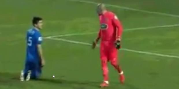 Ruffier chambre un joueur amateur en Coupe de France (VIDEO) - La DH