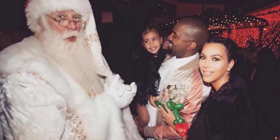 Kim Kardashian dévoile une première photo de son fils Saint