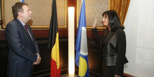 Dominique Dufourny (MR) a prêté serment comme bourgmestre d'Ixelles - La DH