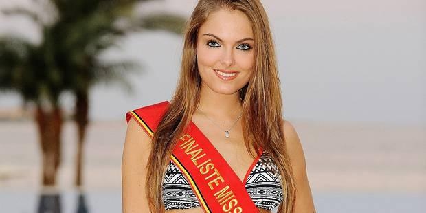 """Stéphanie Nouws: """"Être célibataire est un avantage pour une Miss"""" - La DH"""