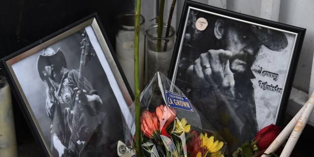Les funérailles du leader de Motörhead ont été diffusées en direct sur le Web - La DH