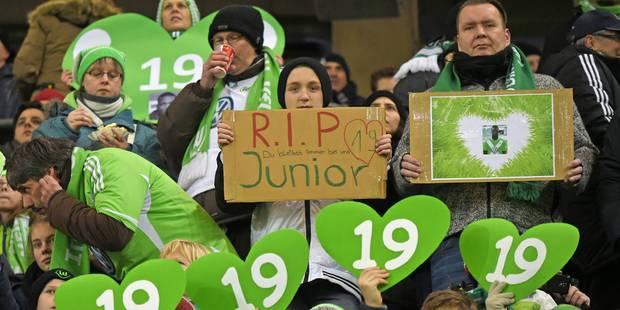 Wolfsburg rend hommage à Junior Malanda... - La DH