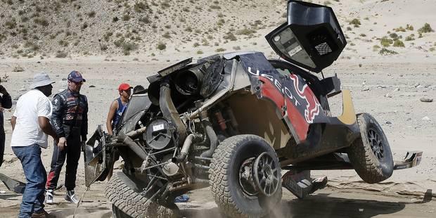 Loeb fait une série de tonneaux et perd le Dakar - La DH