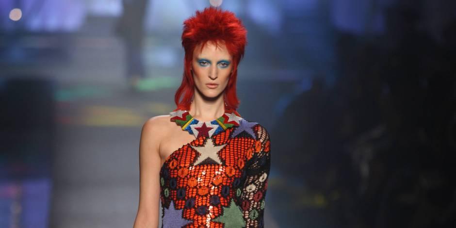 David Bowie a influencé les grands stylistes comme Gaultier, ils lui rendent hommage