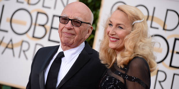 Rupert Murdoch fiancé à l'ex de Mick Jagger !