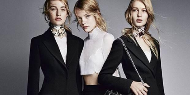 Dior : la dernière collection de Raf Simons dévoilée - La DH