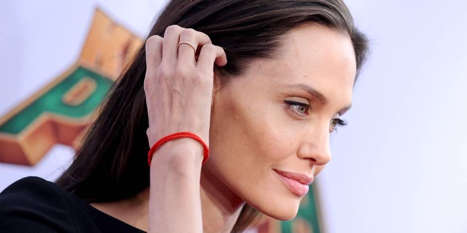 Angelina Jolie inquiète par sa maigreur