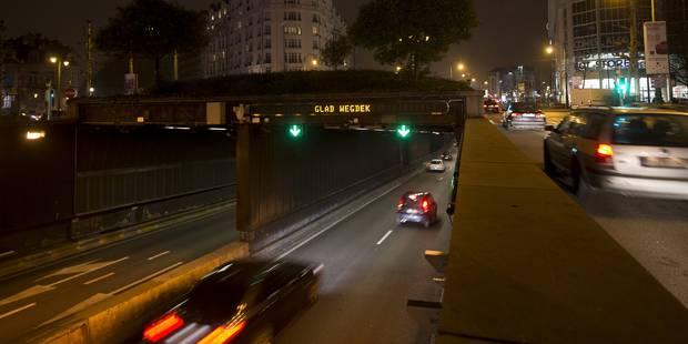 Le tunnel Léopold II rouvert au trafic - La DH