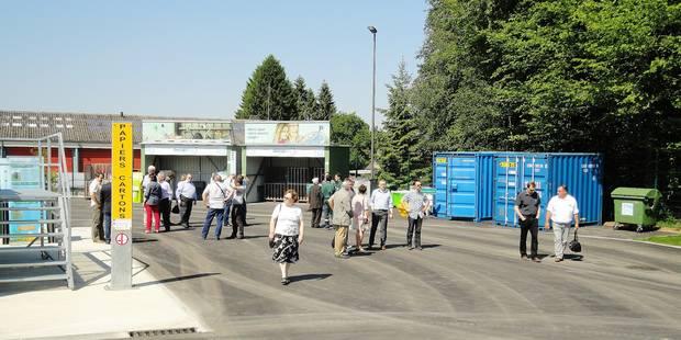 Coup de neuf pour le parc de recyclage - La DH