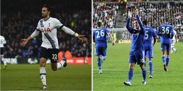 Diables à l'étranger: Chadli au top pour sa 100e, Hazard retrouve le sourire - La DH