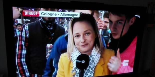 Journaliste de la RTBF agressée à Cologne: un ado se signale à la police - La DH