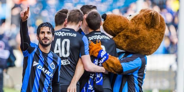 Le FC Bruges bat Gand pour la deuxi�me fois en une semaine
