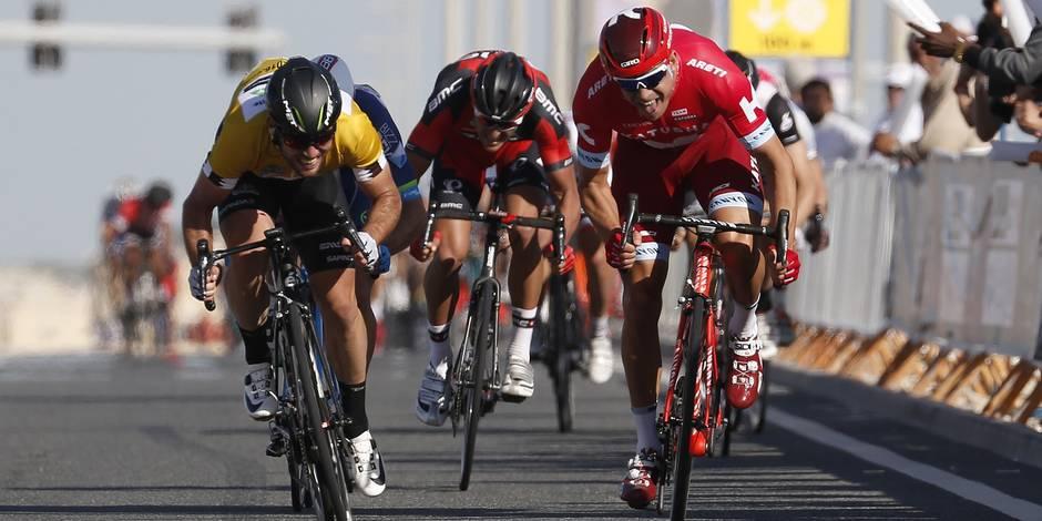 Tour du Qatar: Kristoff s'adjuge la 2e étape devant Cavendish, Roy Jans 3e